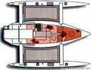 Corsair Marine <b>Dash 750 MkI</b> layoutPicture extracted from the commercial documentation © Corsair Marine