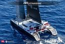 HH Catamarans HH 66 en navigation Image issue de la documentation commerciale © HH Catamarans