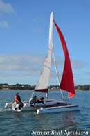 Astus Boats Astus 24 sailing Picture extracted from the commercial documentation © Astus Boats