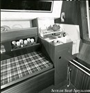 Jeanneau Brin de folie interior and accommodations Picture extracted from the commercial documentation © Jeanneau