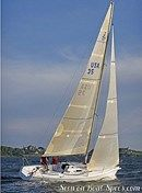 J/Boats J/92s sailing Picture extracted from the commercial documentation © J/Boats