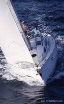 Jeanneau Sun Liberty 34 en navigation Image issue de la documentation commerciale © Jeanneau