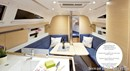Elan Yachts Impression 35 interior and accommodations Picture extracted from the commercial documentation © Elan Yachts
