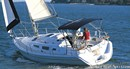 Marlow Hunter Hunter 33 - 2004 sailing Picture extracted from the commercial documentation © Marlow Hunter