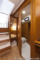 Jeanneau Sun Odyssey 349 interior and accommodations Picture extracted from the commercial documentation © Jeanneau
