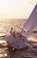 Jeanneau Sun Odyssey 36 sailing Picture extracted from the commercial documentation © Jeanneau