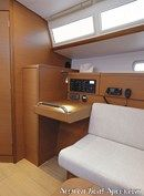 Jeanneau Sun Odyssey 379 interior and accommodations Picture extracted from the commercial documentation © Jeanneau