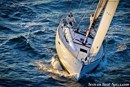 Jeanneau Sun Odyssey 379 sailing Picture extracted from the commercial documentation © Jeanneau