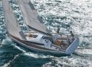 Dehler 38 sailing Picture extracted from the commercial documentation © Dehler