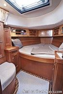 Hallberg-Rassy 372 interior and accommodations Picture extracted from the commercial documentation © Hallberg-Rassy