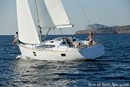 Elan Yachts Impression 40 en navigation Image issue de la documentation commerciale © Elan Yachts