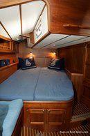 Nauticat Yachts Nauticat 385 intérieur et aménagements Image issue de la documentation commerciale © Nauticat Yachts