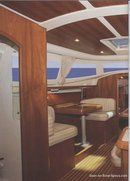 Jeanneau Sun Odyssey 40 DS interior and accommodations Picture extracted from the commercial documentation © Jeanneau