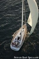 Jeanneau Sun Odyssey 409 sailing Picture extracted from the commercial documentation © Jeanneau