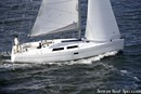 Hanse 400 en navigation Image issue de la documentation commerciale © Hanse