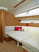 Jeanneau Sun Odyssey 41 DS interior and accommodations Picture extracted from the commercial documentation © Jeanneau