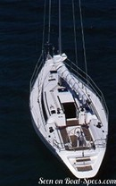 Jeanneau Sun Fast 41 en navigation Image issue de la documentation commerciale © Jeanneau