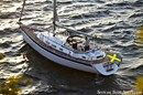 Hallberg-Rassy 40 sailing