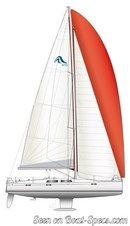 Hanse 415 sailplan