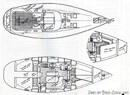Bénéteau Océanis 430 layout
