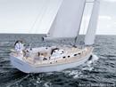 Moody 41 Aft sailing
