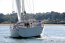 Moody 41 Aft en navigation