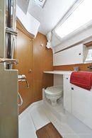 Jeanneau Sun Odyssey 44 DS accommodations