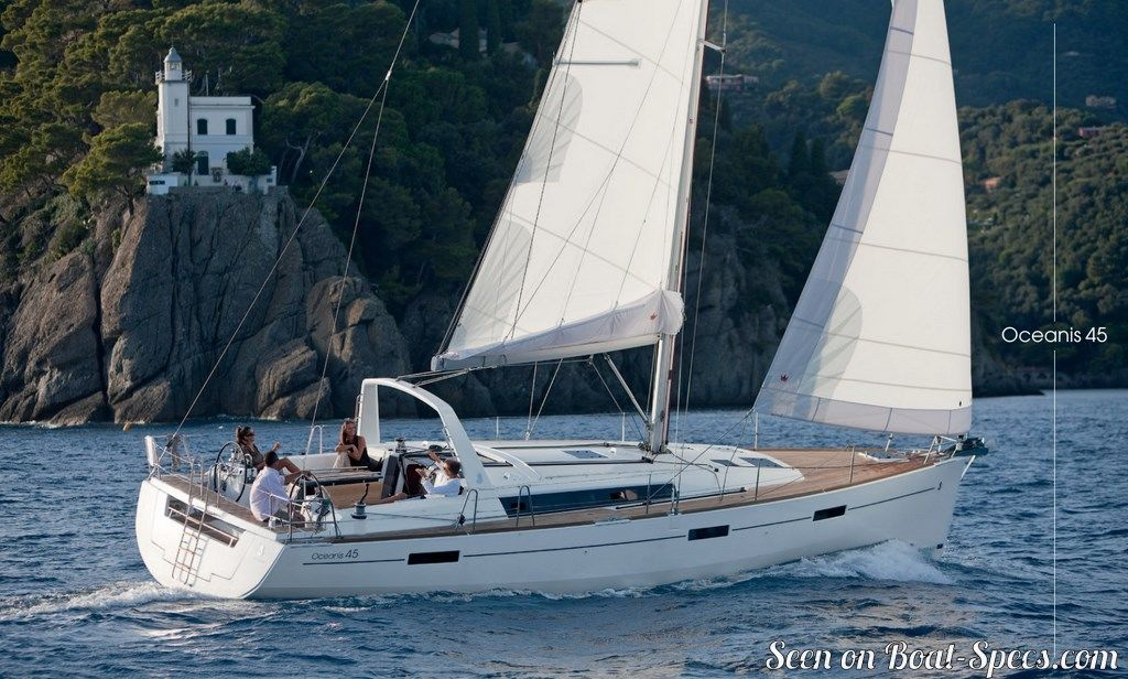 Oceanis 45 Shoal Draft Beneteau Sailboat Specifications And Details On Boat Specs Com