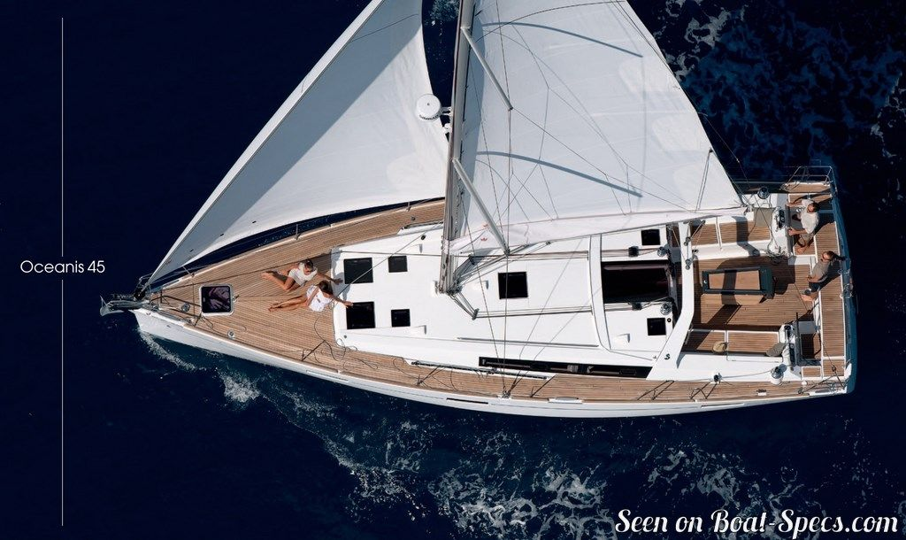 Oceanis 45 Deep Draft Beneteau Sailboat Specifications And Details On Boat Specs Com