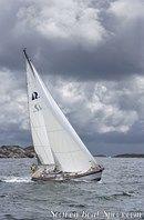 Hallberg-Rassy 43 Mk II en navigation