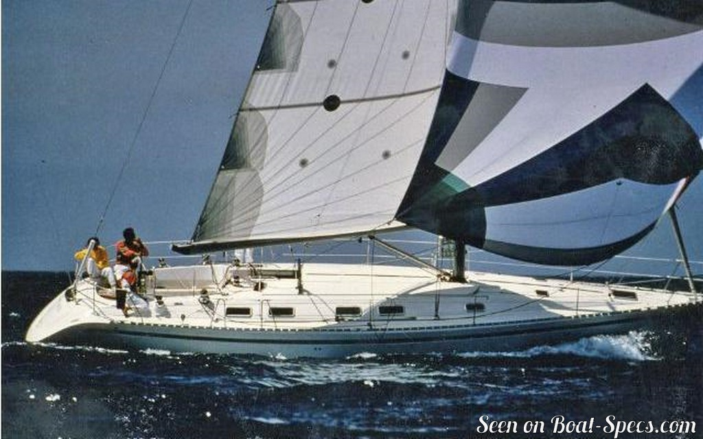 First 45F5 wing keel (Bénéteau) sailboat specifications and details on Boat-Specs.com