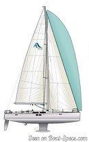 Hanse 505 sailplan