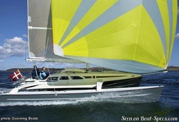 Dragonfly 920 extreme (Quorning Boats) sailboat