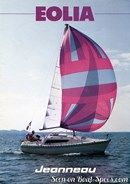 Jeanneau Eolia 25 sailing