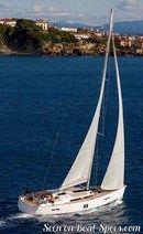Hanse 545 en navigation