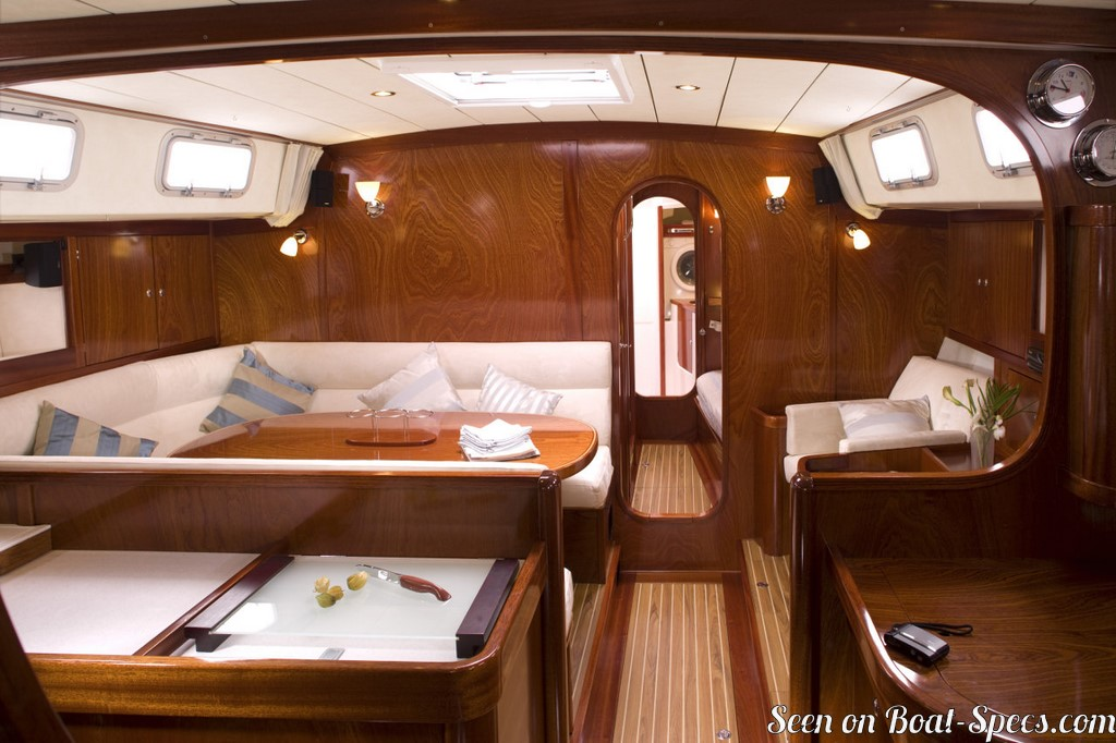 Amel 54 sailboat specifications and details on Boat-Specs com