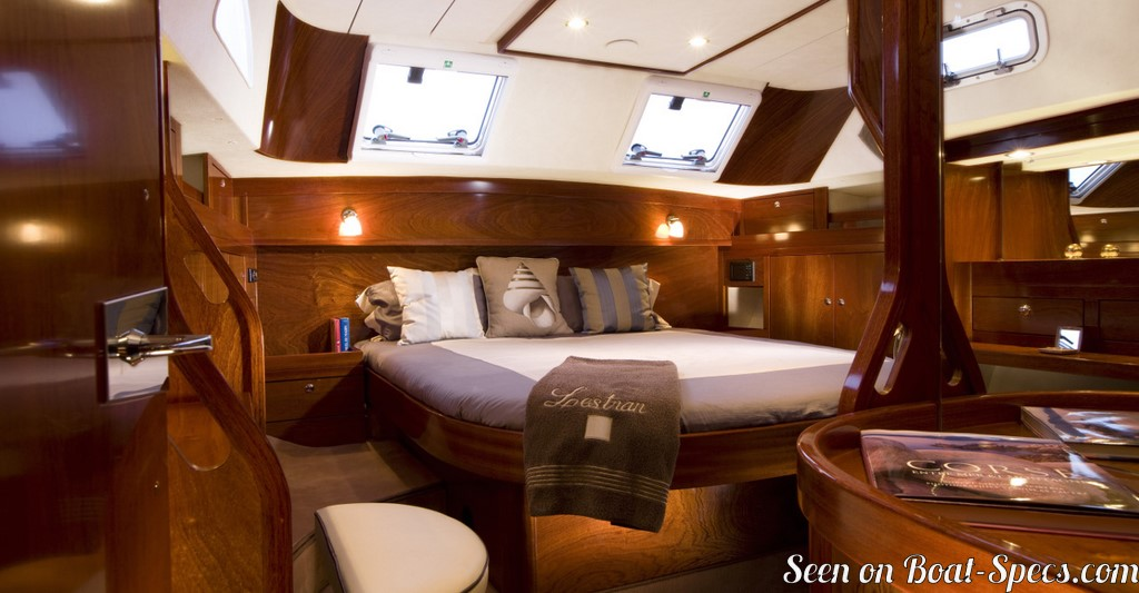 Amel 54 Sailboat Specifications And Details On Boat