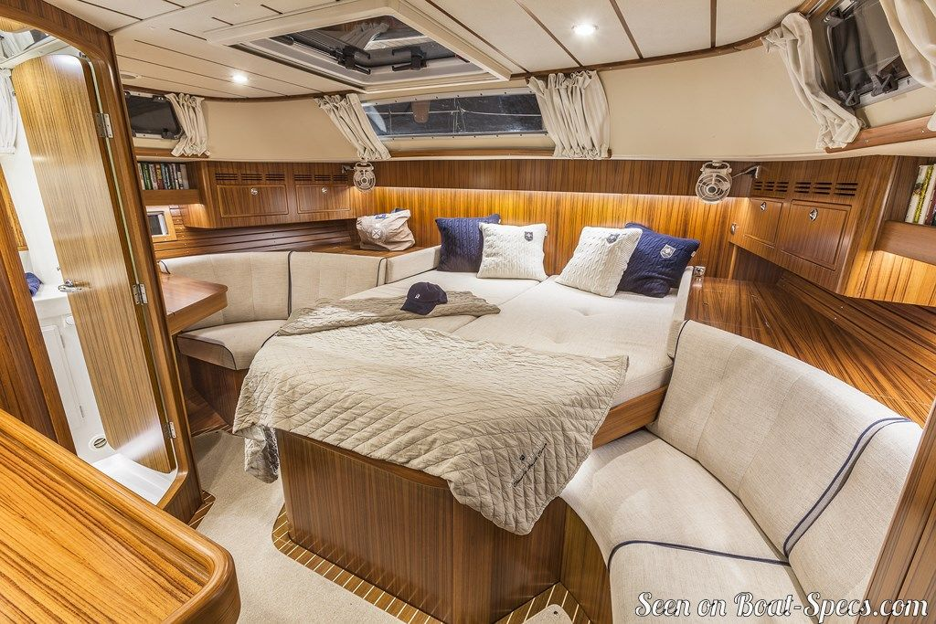 Hallberg-Rassy 55 sailboat specifications and details on Boat-Specs com