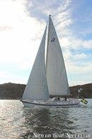 Hallberg-Rassy 55 sailing