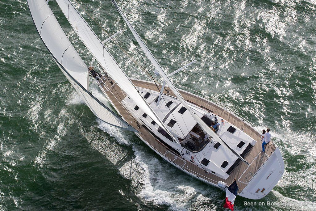 Amel 55 sailboat specifications and details on Boat-Specs com