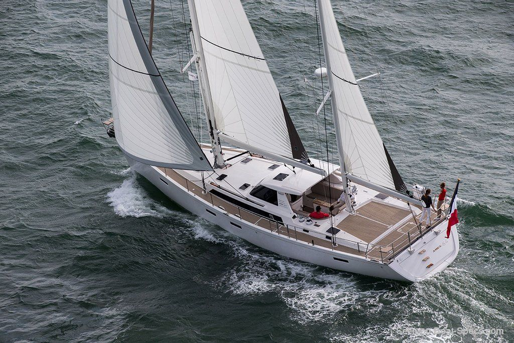 amel 64 sailboat specifications and details on boat