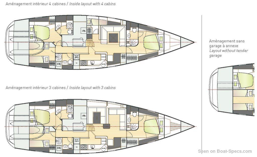 Amel 64 specifications and details on Boat-Specs.com
