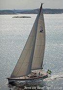 Hallberg-Rassy 64 en navigation