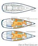 X-Yachts IMX 45 plan