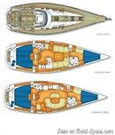 X-Yachts X-43 layout