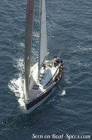 X-Yachts X-562 sailing