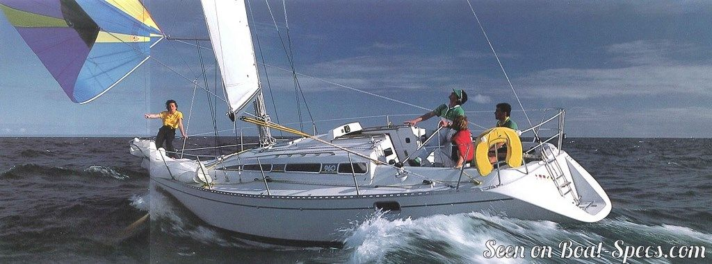 Elite 324 keel and centerboard (Kirié) sailboat