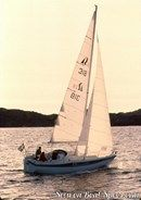 Hallberg-Rassy 26 sailing