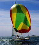 Hallberg-Rassy 34 sailing