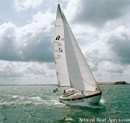 Hallberg-Rassy 38 en navigation